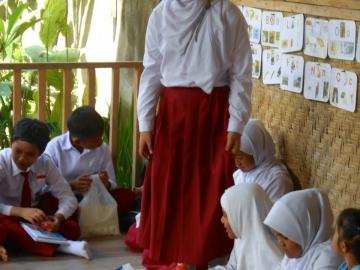 Ansprache einer Schülerin