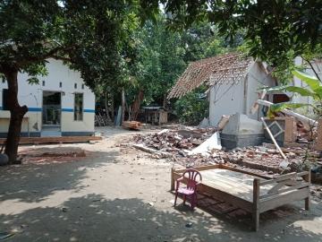 Ein Dorf in der Nähe von Futura Indonesia
