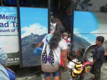 Erste Busreise