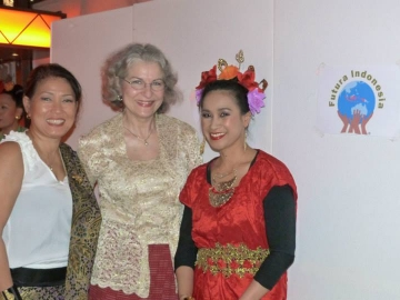 Fundraising für Futura Indonesia in Hamburg