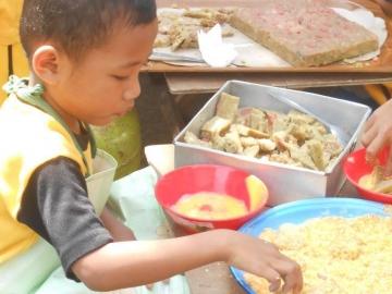 Faza, ein Kindergartenkind