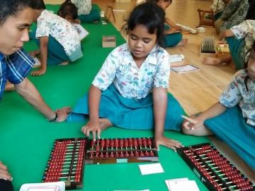 Abacus. Dahlia